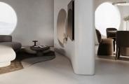 弧形家具、特色圆窗、曲线隔墙,线条还可以这样用!